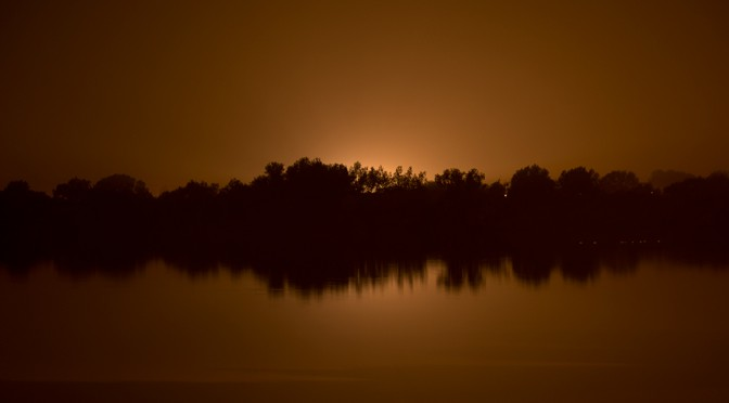 Den Dam by night, 2013/09/25.