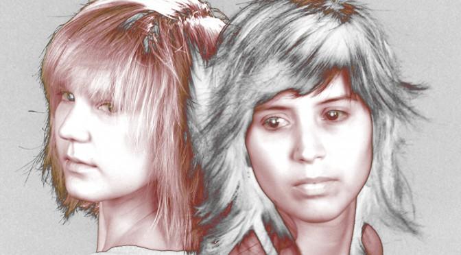 Carole & Nathalie 2007/03/21