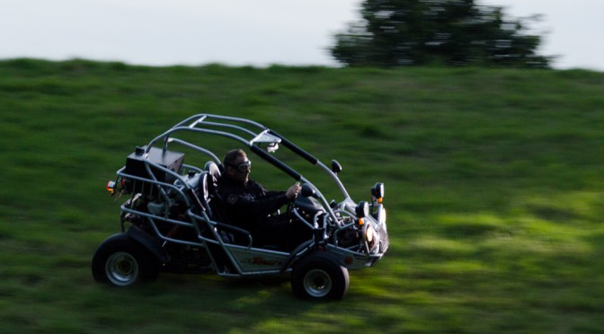 Buggy shoot – panning