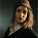 retro portret