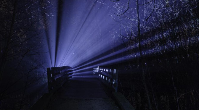Ruisbroek at night